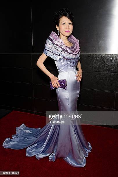 ChiuTi Jansen attends the New Yorkers For Children's 11th Anniversary A Fool's Fete Spring Dance at the Mandarin Oriental Hotel on April 21 2014 in...