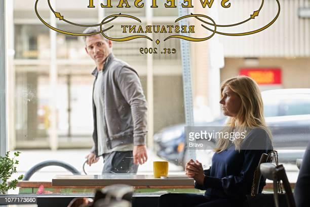 JOHN Chivalry Episode 107 Pictured Eric Bana as John Meehan Connie Britton as Debra Newell