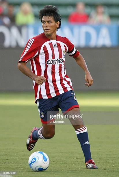 Chivas' Claudio Suarez during a match between Chivas USA and Real Salt Lake August 26 2007 at The Home Depot Center in Carson California