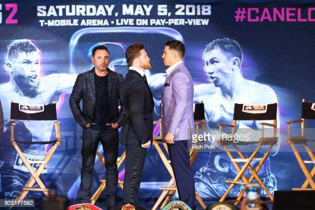 Chivas Regal and fans of the Chivas Fight Club join Gennady 'GGG' Golovkin and Canelo Álvarez as they discuss their anticipated rematch at LA LIVE on...