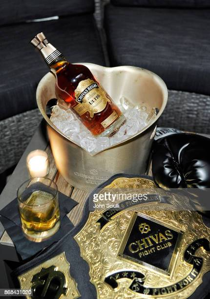 Chivas Regal Ultis at Diego Boneta's David Bernon's Halloween at the Hedges by Chivas Regal on October 30 2017 in West Hollywood California