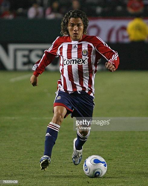Chivas USA's Francisco Mendoza against FC Dallas at The Home Depot Center in Carson. California on May 26, 2007.