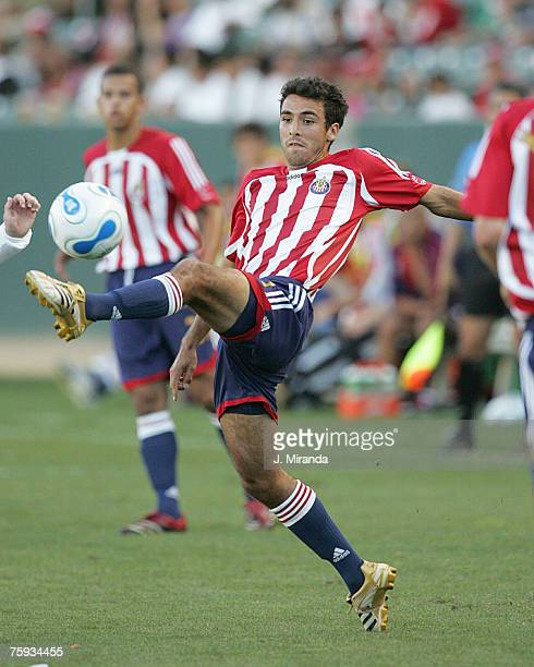 Chivas USA's Jonathan Bornstein against the Colorado Rapids at The Home Depot Center in Carson California on June 3 2006