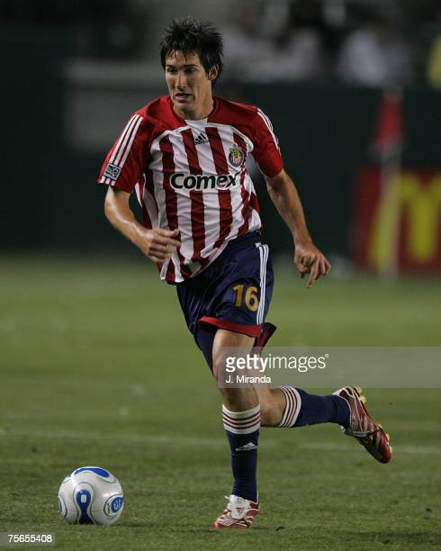 Chivas USA's Sacha Kljestan against FC Dallas at The Home Depot