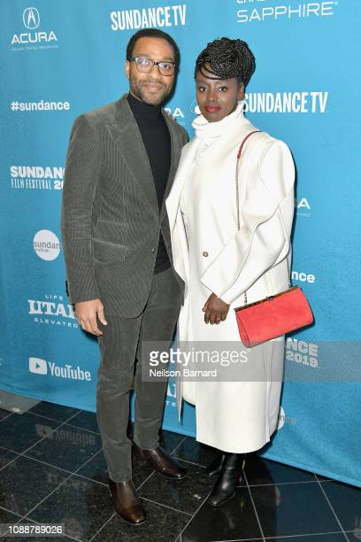 Chiwetel Ejiofor and Aissa Maiga attend Salt Lake Opening Night Screening Of 'The Boy Who Harnessed The Wind' Presented By Zions Bank during 2019...