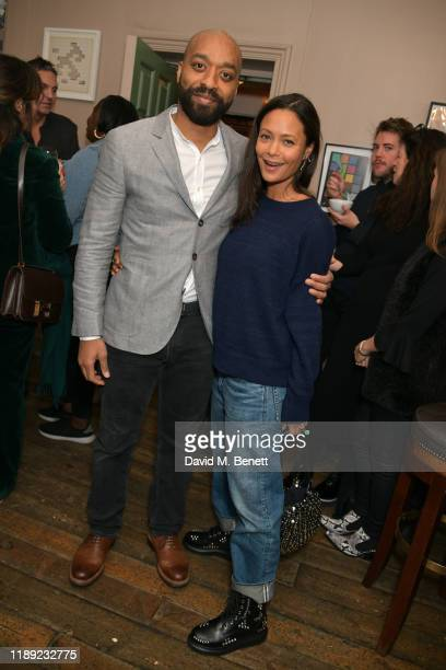 Chiwetel Ejiofor and Thandie Newton attend a special screening hosted by Thandie Newton of Netflix's The Boy Who Harnessed The Wind directed by...