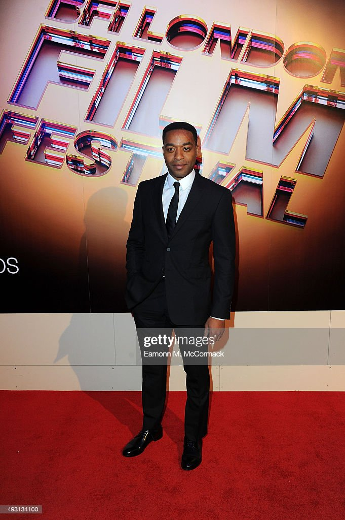 Chiwetel Ejiofor arrives at Banqueting House for the BFI London Film Festival Awards on October 17, 2015 in London, England.
