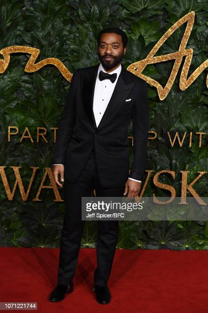 Chiwetel Ejiofor arrives at The Fashion Awards 2018 In Partnership With Swarovski at Royal Albert Hall on December 10 2018 in London England