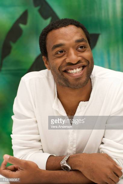 Chiwetel Ejiofor at the 2012 press conference at the Ritz Carlton Hotel on August 6 2009 in Cancun Mexico