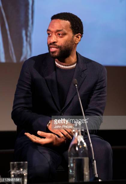 Chiwetel Ejiofor attends a preview screening of The Boy Who Harnessed The Wind at BFI Southbank on February 13 2019 in London England