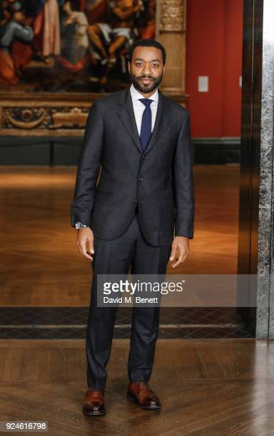 Chiwetel Ejiofor attends a special screening of 'Mary Magdalene' at The National Gallery on February 26 2018 in London England