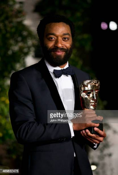 Chiwetel Ejiofor attends an official dinner party after the EE British Academy Film Awards at The Grosvenor House Hotel on February 16 2014 in London...