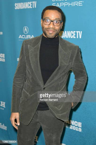 Chiwetel Ejiofor attends Salt Lake Opening Night Screening Of The Boy Who Harnessed The Wind Presented By Zions Bank during 2019 Sundance Film...