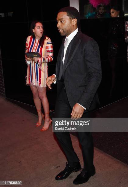Chiwetel Ejiofor attends the 2019 Met Gala Boom Boom Afterparty at The Standard hotel on May 06 2019 in New York City