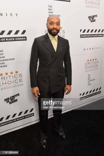 Chiwetel Ejiofor attends The Critics Choice Association celebration of Black Cinema at Landmark Annex on December 02, 2019 in Los Angeles, California.