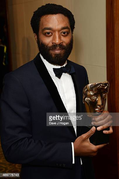 Chiwetel Ejiofor attends the EE British Academy Film Awards 2014 after party at The Grosvenor House Hotel on February 16 2014 in London England