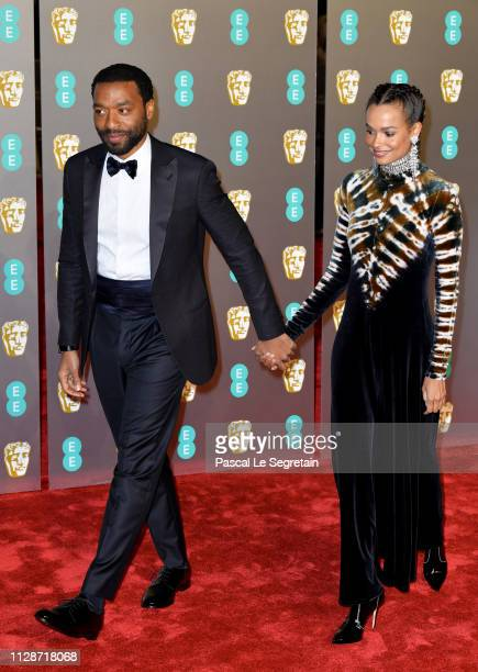 Chiwetel Ejiofor attends the EE British Academy Film Awards at Royal Albert Hall on February 10 2019 in London England