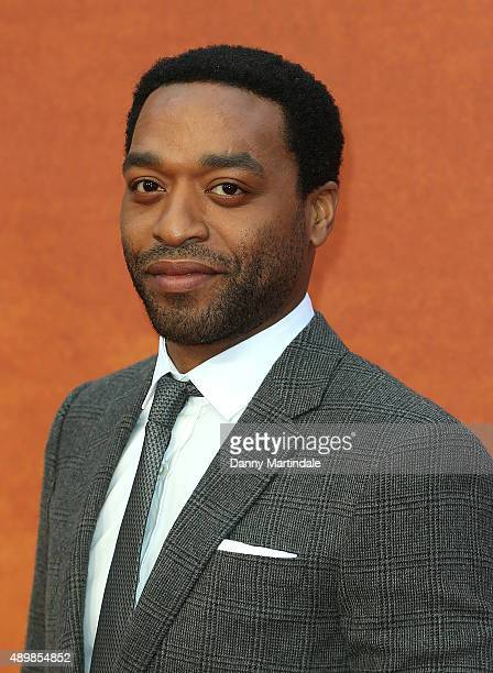 Chiwetel Ejiofor attends the European premiere of 'The Martian' at Odeon Leicester Square on September 24 2015 in London England