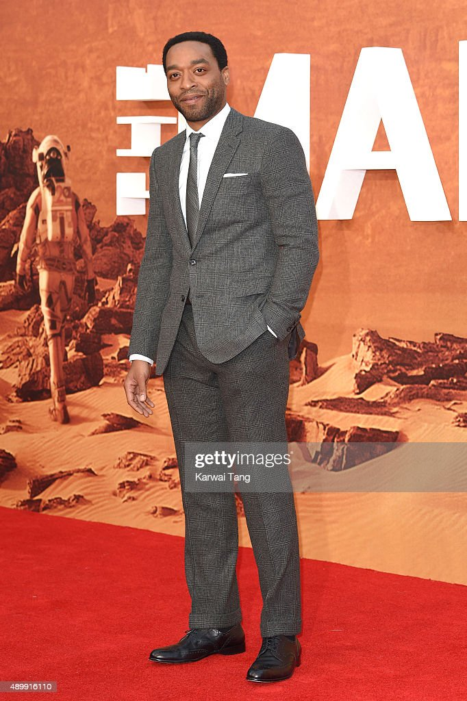 Chiwetel Ejiofor attends the European premiere of 'The Martian' at Odeon Leicester Square on September 24, 2015 in London, England.