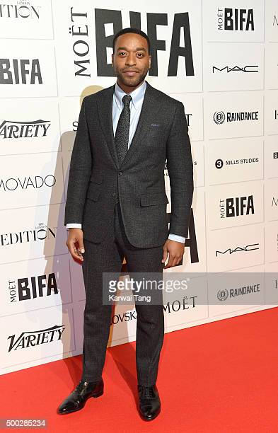 Chiwetel Ejiofor attends the Moet British Independent Film Awards at Old Billingsgate Market on December 6 2015 in London England