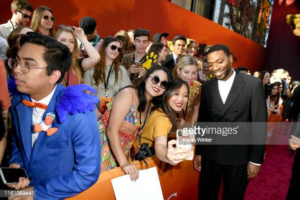 """Chiwetel Ejiofor attends the premiere of Disney's """"The Lion King"""" at Dolby Theatre on July 09, 2019 in Hollywood, California."""
