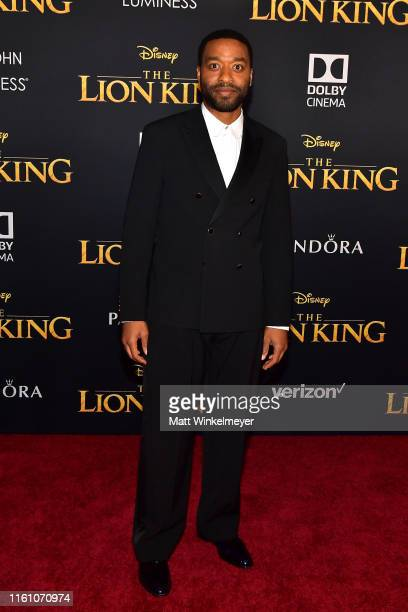 Chiwetel Ejiofor attends the premiere of Disney's The Lion King at Dolby Theatre on July 09 2019 in Hollywood California