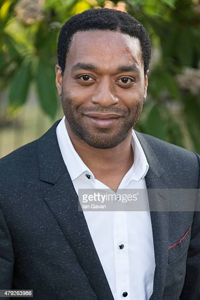 Chiwetel Ejiofor attends the Serpentine Gallery Summer Party at The Serpentine Gallery on July 2 2015 in London England