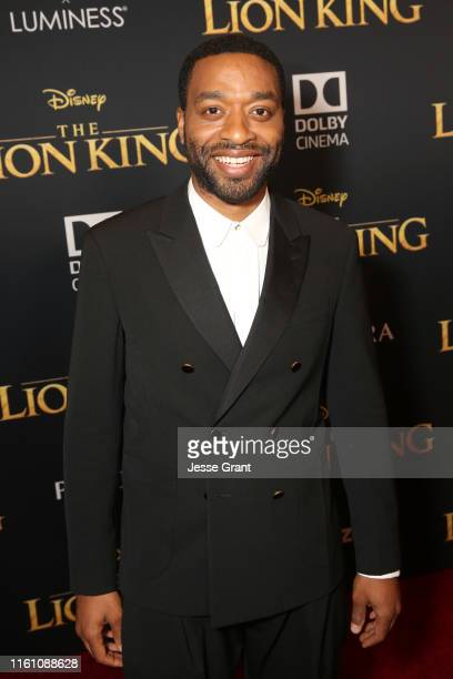 Chiwetel Ejiofor attends the World Premiere of Disney's THE LION KING at the Dolby Theatre on July 09 2019 in Hollywood California