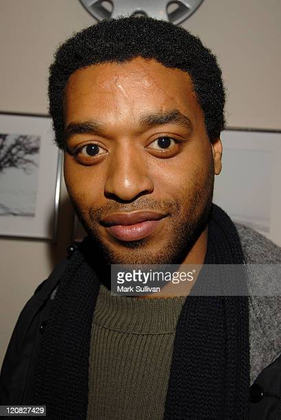 Chiwetel Ejiofor during 2006 Sundance Film Festival Volkswagen Lounge Produced by Backstage Creations at VW Lounge in Park City Utah United States