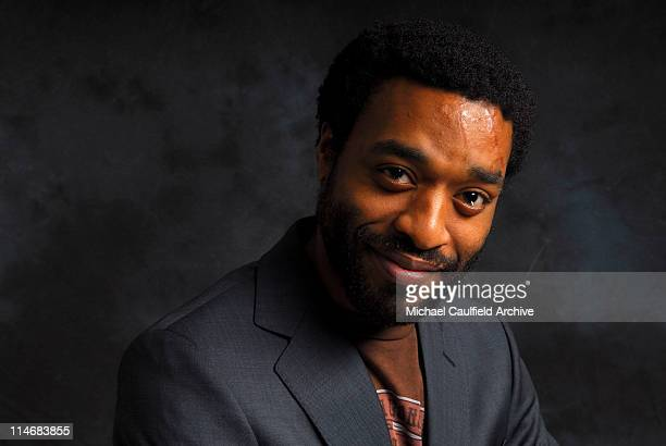 Chiwetel Ejiofor during Access Hollywood 'Stuff You Must' Lounge Day 2 Portraits at Sofitel LA in Los Angeles California United States