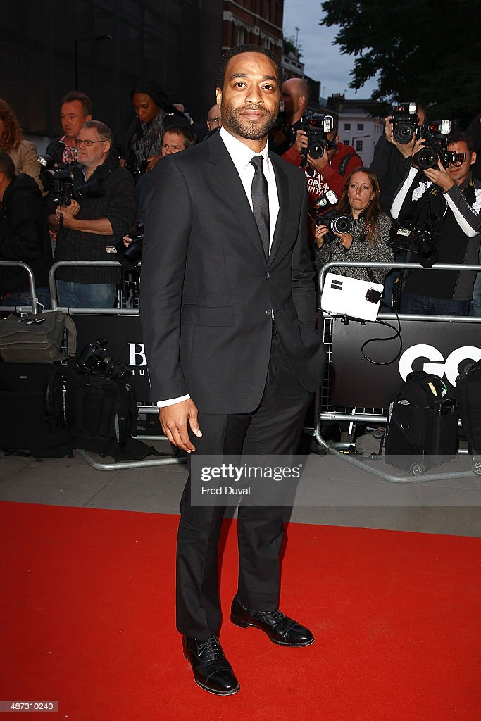 Chiwitel Ejiofor attends the GQ Men Of The Year Awards at The Royal Opera House on September 8, 2015 in London, England.