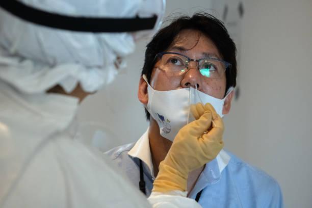 JPN: Tokyo's Chiyoda Ward Demonstrates Covid-19 Testing Facility