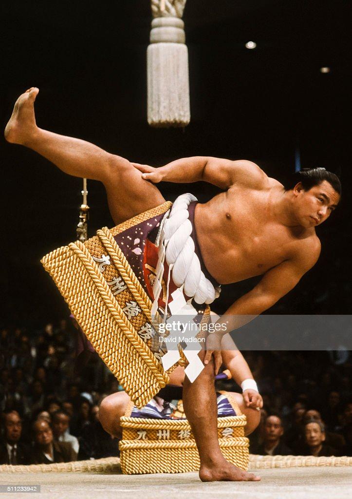 1983 Kyushu Basho : News Photo