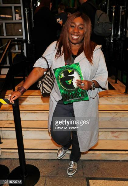 Chizzy Akudolu arrives as hit musical Wicked celebrates 12 years at Apollo Victoria Theatre on September 27 2018 in London England