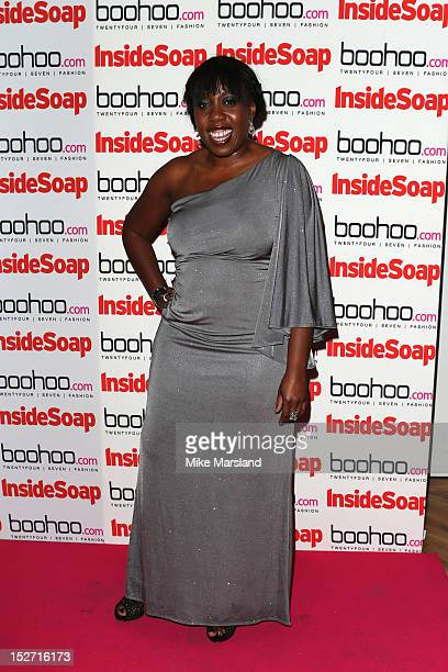 Chizzy Akudolu attends the Inside Soap Awards at One Marylebone on September 24 2012 in London England
