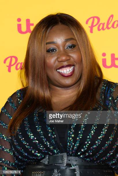 Chizzy Akudolu attends the ITV Palooza held at The Royal Festival Hall on October 16 2018 in London England