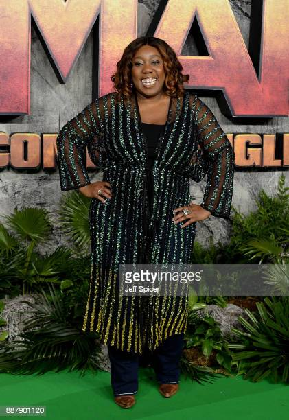 Chizzy Akudolu attends the 'Jumanji Welcome To The Jungle' UK premiere held at Vue West End on December 7 2017 in London England