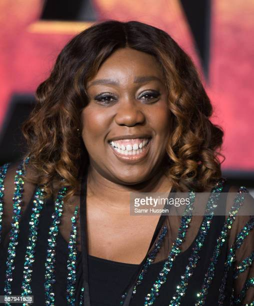 Chizzy Akudolu attends the 'Jumanji Welcome To The Jungle UK premiere held at Vue West End on December 7 2017 in London England