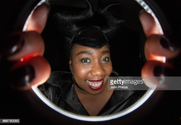 Chizzy Akudolu attends the Kiss Haunted House Party held at SSE Arena on October 26 2017 in London England