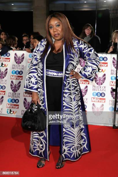 Chizzy Akudolu attends the Pride Of Britain Awards at Grosvenor House on October 30 2017 in London England