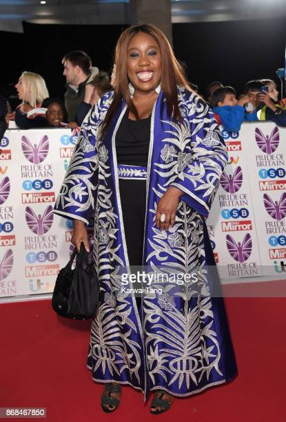 Chizzy Akudolu attends the Pride Of Britain Awards at the Grosvenor House on October 30 2017 in London England
