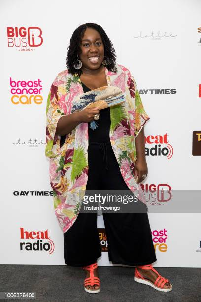 Chizzy Akudolu attends the 'SpiceUp London' exhibition VIP launch at Business Design Centre on July 27 2018 in London England