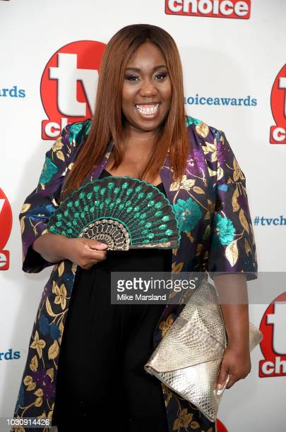 Chizzy Akudolu attends the TV Choice Awards at The Dorchester on September 10 2018 in London England