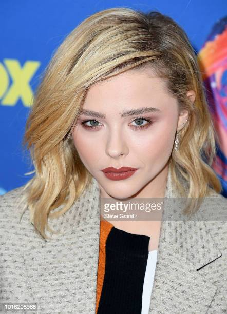 Chlo' Grace Moretz arrives at the FOX's Teen Choice Awards 2018 at The Forum on August 12 2018 in Inglewood California