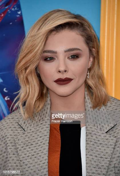 Chloë Grace Moretz attends FOX's Teen Choice Awards at The Forum on August 12 2018 in Inglewood California