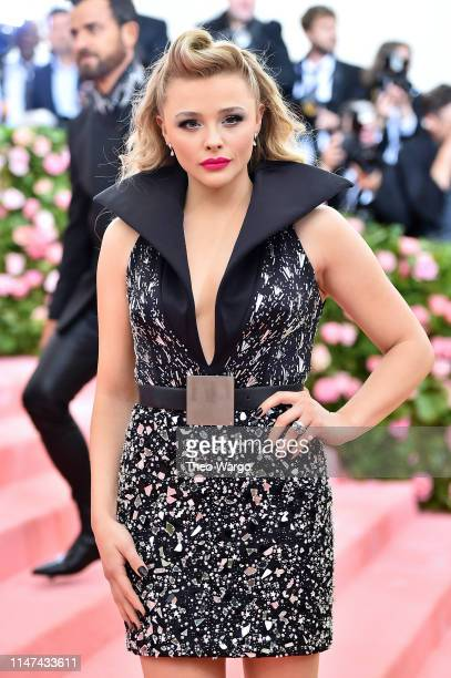 Chloë Grace Moretz attends The 2019 Met Gala Celebrating Camp: Notes on Fashion at Metropolitan Museum of Art on May 06, 2019 in New York City.