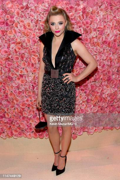 Chloë Grace Moretz attends The 2019 Met Gala Celebrating Camp Notes on Fashion at Metropolitan Museum of Art on May 06 2019 in New York City