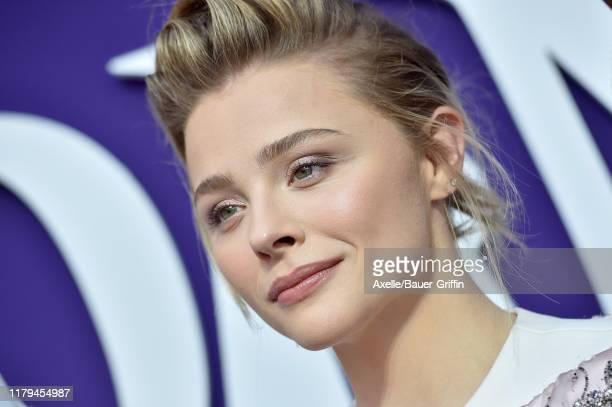 """Chloë Grace Moretz attends the Premiere of MGM's """"The Addams Family"""" at Westfield Century City AMC on October 06, 2019 in Los Angeles, California."""