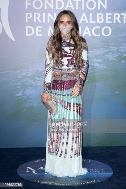 Chloé Green attends the Monte-Carlo Gala For Planetary Health on September 24, 2020 in Monte-Carlo, Monaco.