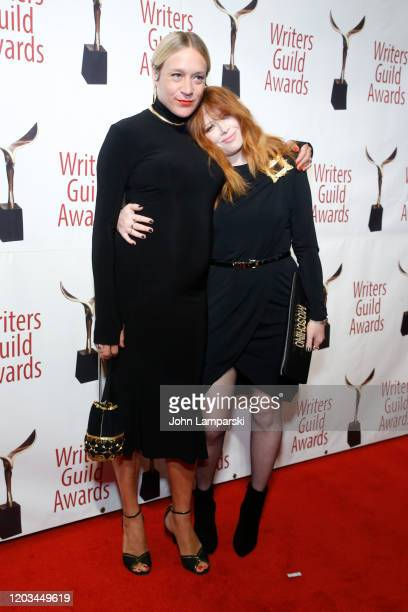 Chloë Sevigny and Natasha Lyonne attend the 72nd Annual Writers Guild Awards at Edison Ballroom on February 01 2020 in New York City